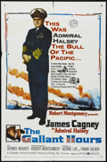 """Movie Posters:War, the Gallant Hours (United Artists, 1960). One Sheet (27"""" X 41"""").War. Directed by Robert Montgomery. Starring James Cagney, ..."""