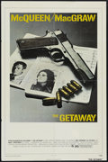 "Movie Posters:Action, The Getaway (Warner Brothers, 1972). One Sheet (27"" X 41""), Action.Directed by Sam Peckinpah. Starring Steve McQueen, Ali M..."