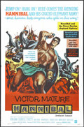 """Movie Posters:Action, Hannibal (Warner Brothers, 1960). One Sheet (27"""" X 41""""). Adventure.Directed by Carlo Ludovico Bragaglia and Edgar G. Ulmer...."""