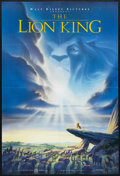 "Movie Posters:Animated, The Lion King (Buena Vista, 1994). One Sheet (27"" X 40"").Children's. Directed by Roger Allers and Rob Minkoff. Starringthe..."