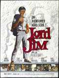 "Movie Posters:Adventure, Lord Jim (Columbia, 1965). French Grande (47"" X 63""). Drama.Directed by Richard Brooks. Starring Peter O'Toole, James Mason..."