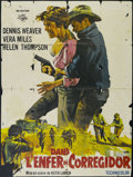 "Movie Posters:Adventure, Mission Batangas (Manson Distributing, 1968). French Grande (47"" X63""). Adventure. Directed by Keith Larsen. Starring Denni..."