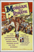 "Movie Posters:Adventure, Morgan the Pirate (MGM, 1961). One Sheet (27"" X 41""). Adventure.Directed by André De Toth and Primo Zeglio. Starring Steve ..."