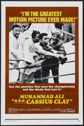 """Movie Posters:Documentary, Muhammad Ali a.k.a. Cassius Clay (United Artists, 1970). One Sheet (27"""" X 41""""). Sports Documentary. Directed by Jim Jacobs. ..."""