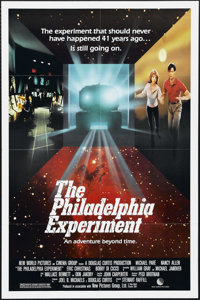 "The Philadelphia Experiment (New World Pictures, 1984). One Sheet (27"" X 41""). Science Fiction. Directed by St..."