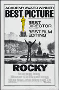 """Movie Posters:Sports, Rocky (United Artists, 1977). One Sheet (27"""" X 41""""). Academy Awards Style B. Drama. Directed by John G. Avildsen. Starring S..."""