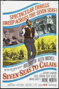 "Movie Posters:Adventure, Seven Seas to Calais (MGM, 1962). One Sheet (27"" X 41""). Adventure.Directed by Rudolph Maté and Primo Zeglio. Starring Rod ..."