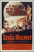 "Movie Posters:War, The Steel Helmet (Lippert Pictures, Inc., 1951). One Sheet (27"" X41""). War. Directed by Samuel Fuller. Starring Gene Evans,..."