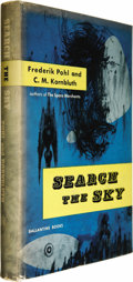 Books:Signed Editions, Frederik Pohl and C. M. Kornbluth: Signed First Edition of Search the Sky (New York: Ballantine Books, 1954), first edit... (Total: 1 Item)