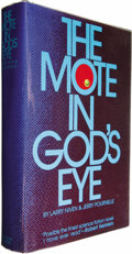 Books:Signed Editions, Larry Niven & Jerry Pournelle: Signed First Edition of TheMote in God's Eye (New York: Simon and Schuster, 1974),first... (Total: 1 Item)