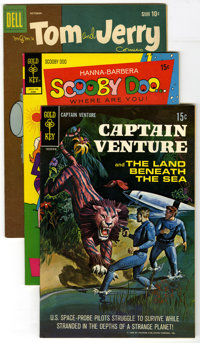 Dell/Gold Key Group (Dell/Gold Key, 1959-72) Condition: Average VF/NM. Captain Venture and the Land Beneath the Sea #1 (...