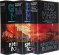 Books:Signed Editions, Kim Stanley Robinson: The Mars Trilogy Signed in Blue Ink,including:. Red Mars (London: Harper Collins, 1992), firs...(Total: 1 Item)