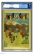 "Platinum Age (1897-1937):Miscellaneous, Famous Comics #nn (Zain-Eppy, 1934) CGC VF 8.0 Cream to off-whitepages. This Gerber ""8"" has reprints from various 1933 and ..."