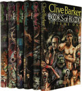 Books:Signed Editions, Clive Barker: Signed Limited First Editions of Books ofBlood Volumes I-VI (London: Weidenfeld & Nicolson, 1985),si... (Total: 6 Item)