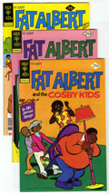 Bronze Age (1970-1979):Cartoon Character, Fat Albert Group (Gold Key, 1975-78) Condition: Average NM-. Issues#10, 11, #23, (3 copies), #24 (2), and #28 (2). Approxim... (Total:9 Comic Books)
