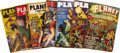 Books:Periodicals, Seven Issues of Planet Stories from 1939 to 1949 (New York:Fiction House Magazines, 1939-1949), all approximately 7... (Total:7 Item)