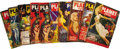 """Books:Periodicals, Ten Issues of Planet Stories from the 1950s (New York: Fiction House Magazines, 1950-1953), all approximately 7"""" x 9... (Total: 10 Item)"""