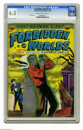 Golden Age (1938-1955):Horror, Forbidden Worlds #4 (ACG, 1952) CGC FN+ 6.5 Cream to off-whitepages. Paul Cooper art. Overstreet 2005 FN 6.0 value = $126; ...