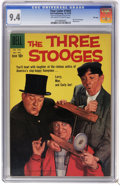 Silver Age (1956-1969):Miscellaneous, Four Color #1043 The Three Stooges - File Copy (Dell, 1959) CGC NM 9.4 Off-white to white pages. Photo cover. Highest CGC gr...