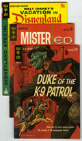 Silver Age (1956-1969):Miscellaneous, Gold Key Group (Gold Key, 1963-65) Condition: Average FN/VF. Duke of the K-9 Patrol #1; Mister Ed #2; and Vacation... (Total: 3 Comic Books)