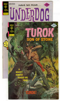 Bronze Age (1970-1979):Miscellaneous, Gold Key Bronze Group (Gold Key, 1975-77) Condition: VF/NM. Thisgroup contains Underdog #1 and Turok #109. Approxim... (Total: 2Comic Books)