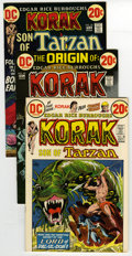 Bronze Age (1970-1979):Miscellaneous, Korak, Son of Tarzan # 48-50 Multiple Copies Group (DC, 1972-73)Condition: Average VF. Group consists of #48 (10 copies), #...(Total: 30)