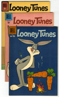 Silver Age (1956-1969):Humor, Looney Tunes and Mighty Mouse Group (Dell/Gold Key, 1960-65) Condition: Average VF/NM. Looney Tunes #225, 231, 235, and ... (Total: 8 Comic Books)