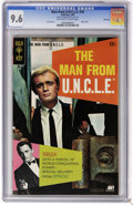 Silver Age (1956-1969):Adventure, Man from U.N.C.L.E. #18 File Copy (Gold Key, 1968) CGC NM+ 9.6 Off-white to white pages. Photo cover. Joe Certa art. Tied fo...