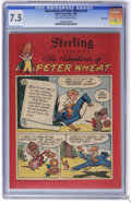 Golden Age (1938-1955):Funny Animal, Peter Wheat #32 File Copy (Bakers Associates, 1950) CGC VF- 7.5Off-white to white pages. Bakers Associates Giveaway. Walt K...