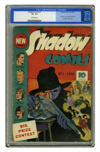 Shadow Comics #1 (Street & Smith, 1940) CGC VG- 3.5 Off-white pages. The Shadow and Doc Savage both made their first...