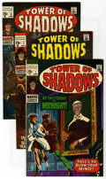 Silver Age (1956-1969):Horror, Tower of Shadows #1-9 Group (Marvel, 1969-71) Condition: Average VF. Includes Tower of Shadows #1, 2, 3, 4, 5, 6, 7, 8, ... (Total: 10 )