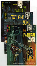 Silver Age (1956-1969):Horror, Twilight Zone Group Plus (Gold Key, 1963-68) Condition: AverageVF/NM. Issues #5, 19, #20 (4 copies), plus Doctor Solar Ma...(Total: 7 Comic Books)