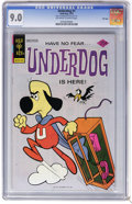 Bronze Age (1970-1979):Cartoon Character, Underdog #1 File Copy (Gold Key, 1975) CGC VF/NM 9.0 Off-white towhite pages. Overstreet 2006 VF/NM 9.0 value = $69; NM- 9....