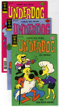 Bronze Age (1970-1979):Cartoon Character, Underdog Group (Gold Key, 1976-78) Condition: Average NM-. Issues#8 (2 copies), 9, #13 (2), 15, and #17 (2). Approximate Ov...(Total: 8 Comic Books)