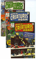 Bronze Age (1970-1979):Horror, Where Creatures Roam #1-8 Group (Marvel, 1970-71) Condition:Average FN/VF. Included are issues #1, 2, 3, 4, 5, 6, 7, and 8 ...(Total: 8 )