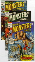 Silver Age (1956-1969):Horror, Where Monsters Dwell Group (Marvel, 1970-75). An almost-completerun that includes issues 1, 2, 3, 4, 5, 6, 7, 8, 9, 10, 11,...(Total: 29 )