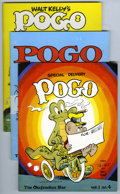 Magazines:Miscellaneous, Okefenokee Star - Pogo Prozine Group (Swamp Yankee Studios,1977-80) Condition: VF. Group consists of issues of the The Ok...(Total: 7 Comic Books)