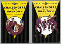 Books:Superhero, DC Archive Editions Challengers of the Unknown Vol. 1 and 2 Group (DC, 2003-04). The art of Jack Kirby and Wally Wood is fea... (Total: 2 Items)