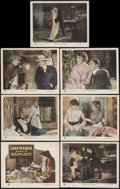 """Movie Posters:Drama, What Do Men Want? (F.B. Warren, 1921). Title Lobby Card & LobbyCards (6) (11"""" X 14""""). Drama.. ... (Total: 7 Items)"""