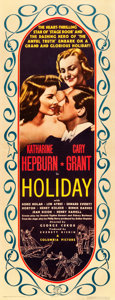"Movie Posters:Comedy, Holiday (Columbia, 1938). Insert (14"" X 36"").. ..."