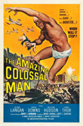 "Movie Posters:Science Fiction, The Amazing Colossal Man (American International, 1957). One Sheet(27"" X 41"").. ..."