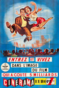 "Movie Posters:Documentary, This is Cinerama (Cinerama Europe 1, 1961). French Two Panel (62"" X92"").. ..."