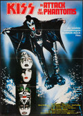 """Movie Posters:Rock and Roll, KISS Meets the Phantom of the Park (Avco Embassy, 1978). German A1(23"""" X 33""""). Rock and Roll. Also Known As: KISS in Atta..."""