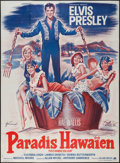 "Movie Posters:Elvis Presley, Paradise -- Hawaiian Style (Paramount, 1966). French Grande (45"" X62""). Elvis Presley.. ..."
