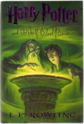 Books:Children's Books, [Mary GrandPré, Illustrator]. J.K. Rowling. Harry Potter and theHalf-Blood Prince. New York: Scholastic Press, [200...
