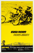 """Movie Posters:Drama, Easy Rider (Columbia, R-1972). One Sheet (27"""" X 41"""").. ..."""