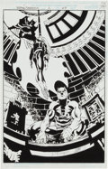 Original Comic Art:Splash Pages, Scott McDaniel and Derek Fisher Daredevil and Batman #1Splash Page 29 Original Art (Marvel, 1997)....