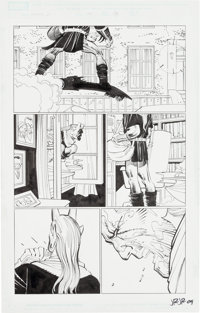John Romita Jr. and Klaus Janson Spider-Man #585 Page 22 Original Art (Marvel, 2009)