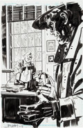 Original Comic Art:Splash Pages, John Paul Leon The Spirit #16 Splash Page 13 Original Art(DC, 2011)....