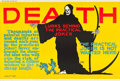 """Movie Posters:Miscellaneous, Death Lurks Behind the Practical Joker (Mather and Company, 1923). Motivational Poster (28"""" X 41.5"""").. ..."""